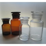 Reagent Bottle,  Wide Mouth 120 ml  AMBER
